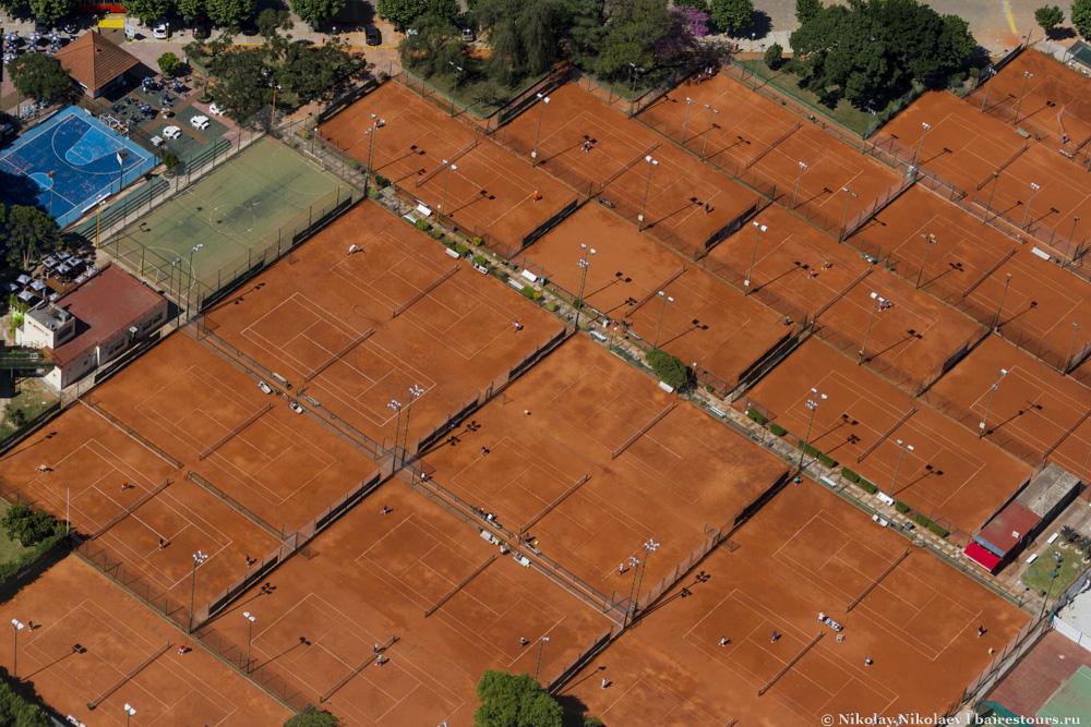 57.Теннис популярен в Буэнос-Айресе.