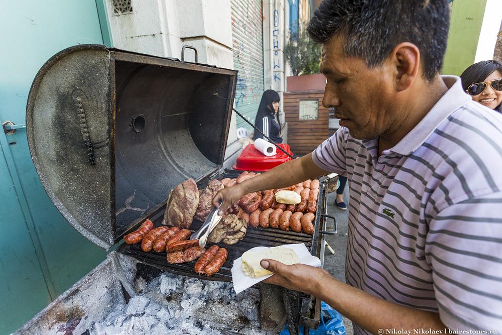 45. Классика жанра чорипан. Подробней об аргентинской еде можно узнать тут.