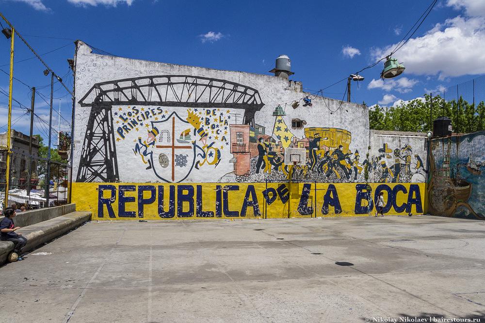 Достопримечательности Аргентины: район La Boca в Буэнос-Айресе