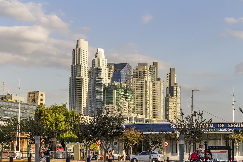 4. Недвижимость в Пуэрто Мадеро одна из самых дорогих во всей Аргентине. Ее быстро расхватали международные корпорации, самые роскошные отели и миллионеры, желавшие взять себе апартаменты с шикарными видами.
