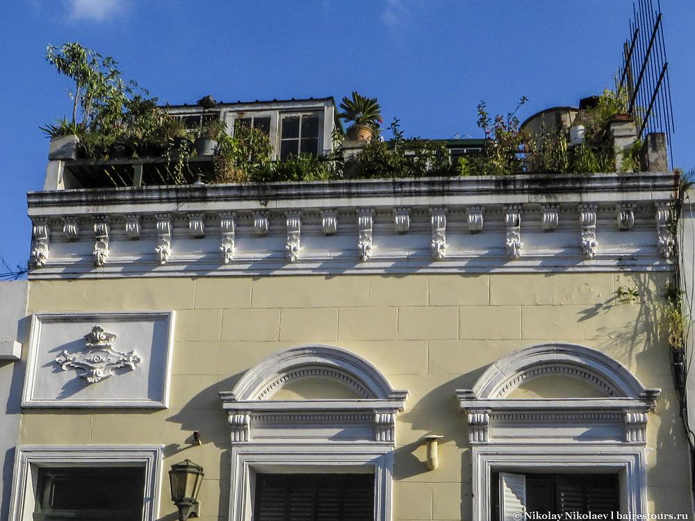 26. Крыши частенько служат зоной отдыха.