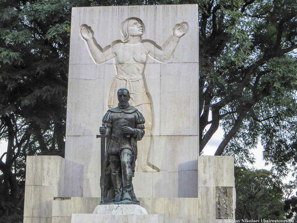 51. Самый большой парк Сан-Тельмо называтся Лесама.