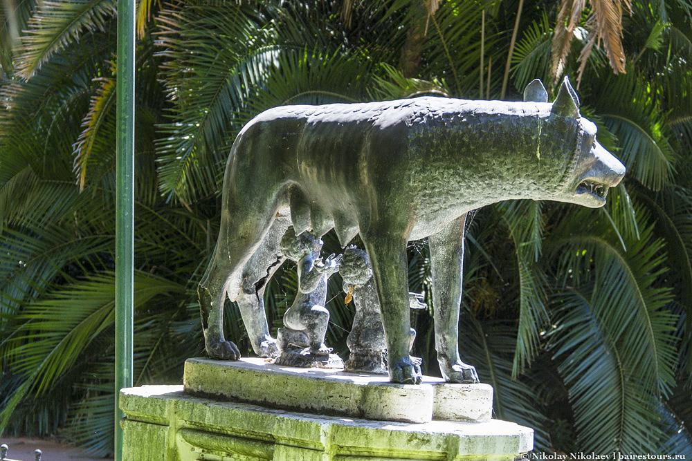 6. Знаменитая статуя римской волчицы.