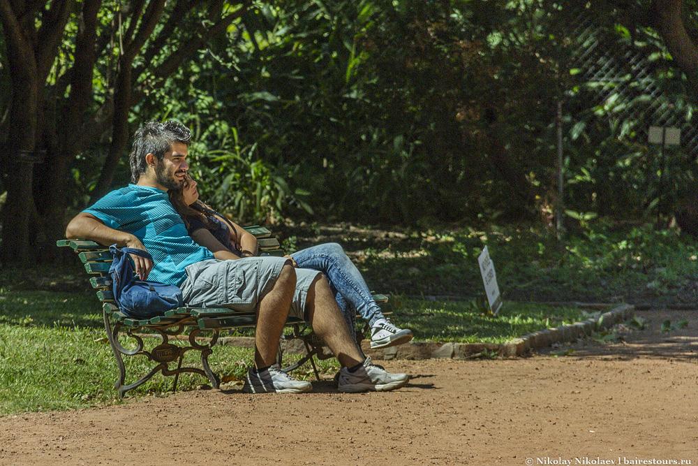 15. Ботанический сад Буэнос-Айреса.