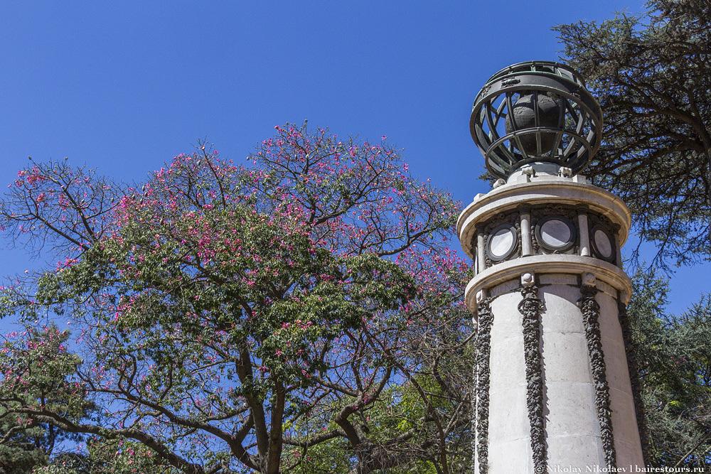 30. Ботанический сад Буэнос-Айреса.