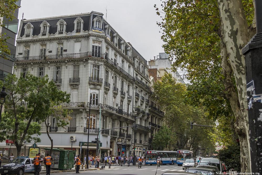 46. Проспект Авенида де Майо.