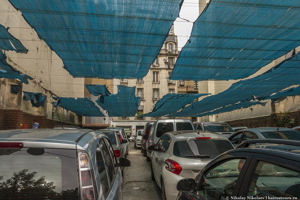 49. Так выглядят обычные паркинги.