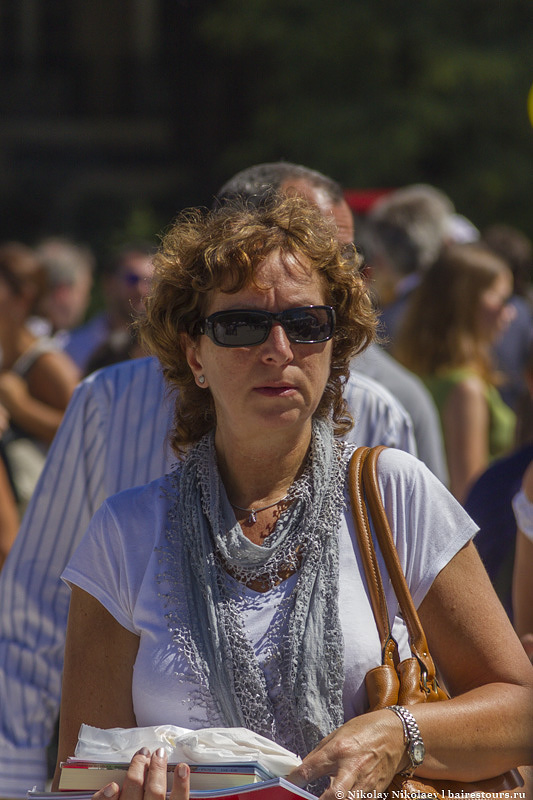 11. В парке площади Сан-Мартин часто проводят городские мероприятия.