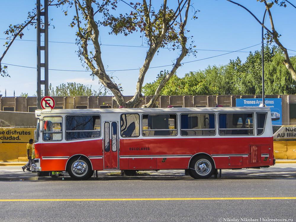 36. Прекрасный аргентинский автобус.