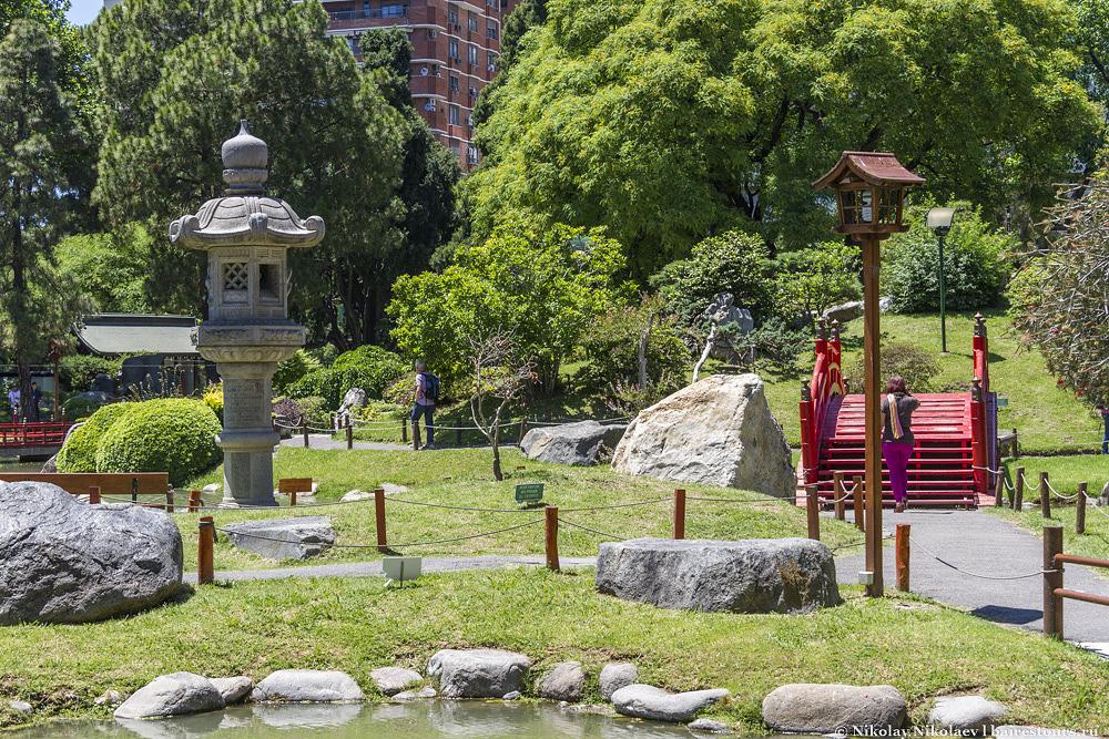 12. Японский сад Буэнос-Айреса.