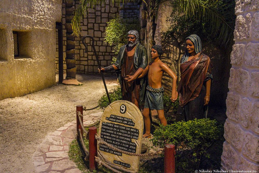 14. Молодой Иисус с родителями пришел в Иерусалим.