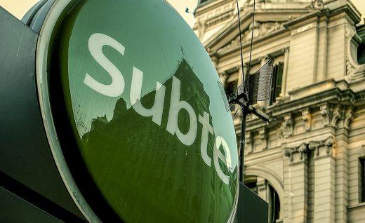 """02. Subte - название метро Буэнос-Айреса, которое можно перевести как """"подземка"""". Это самое старое метро в Южной Америке."""