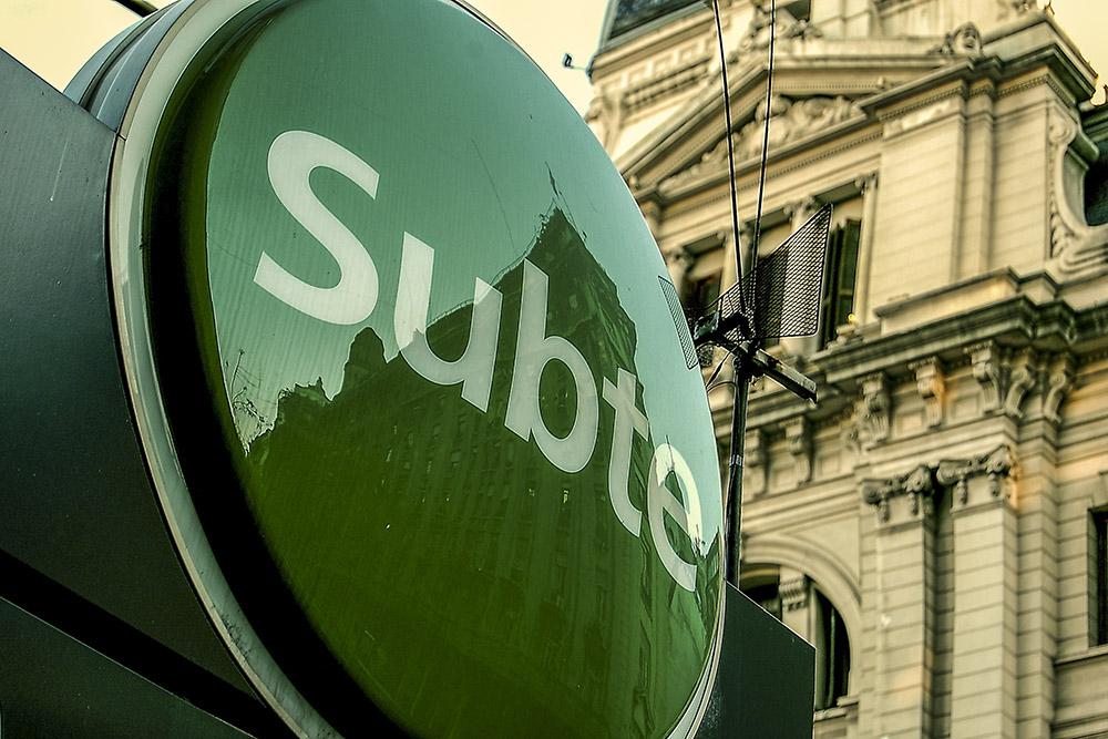 02. SUBTE — название метро Буэнос-Айреса, которое можно перевести как «подземка». Это самое старое метро в Южной Америке.