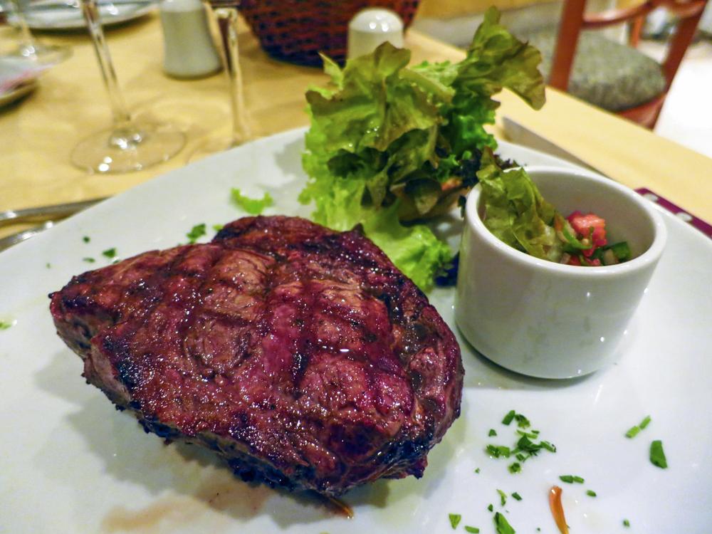 05. Bife de Lomo – еще один классический стейк, нежная вырезка без жира.