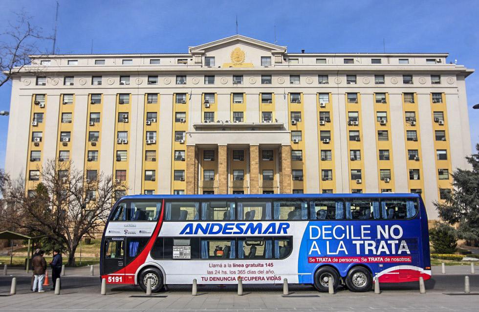 2. Одна из крупнейших автобусных компаний Аргентины Andesmar