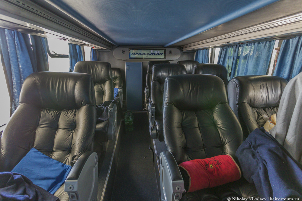 4. Автобусный салон класса ejecutivo.