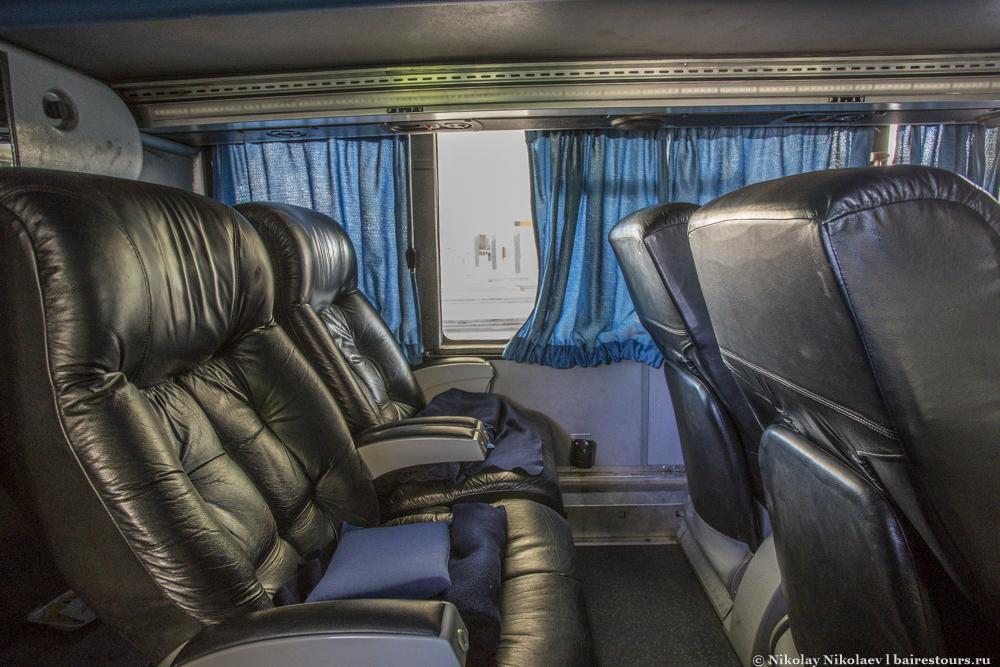 5. Класс ejecutivo – еще не самое крутое, что есть в аргентинских автобусах.