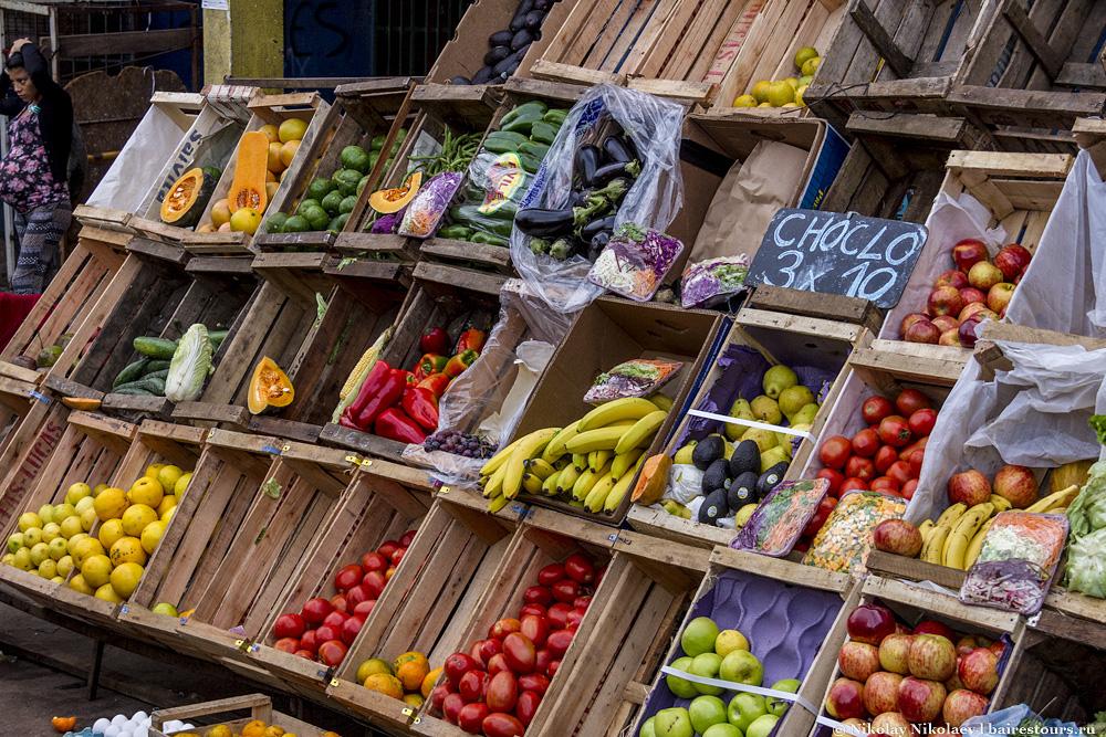 07. Отличные фрукты и овощи, ничуть не хуже чем в супермаркетах.
