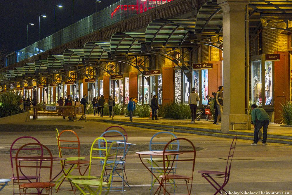 29. Здесь можно не просто совершать покупки, но и погулять в приятной обстановке на свежем воздухе.