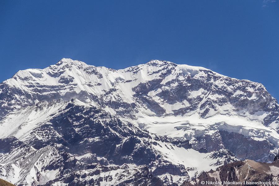 06. Высшая точка обоих Америк гора Аконкагуа.