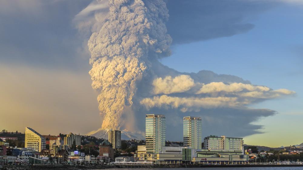 10. Утро в Чили начинается с извержения вулкана, в данном случае вулкана Калбуко.
