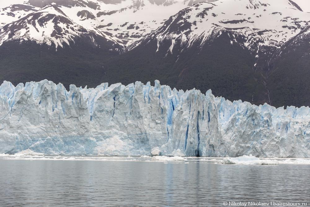 01. Остроконечные пики ледника
