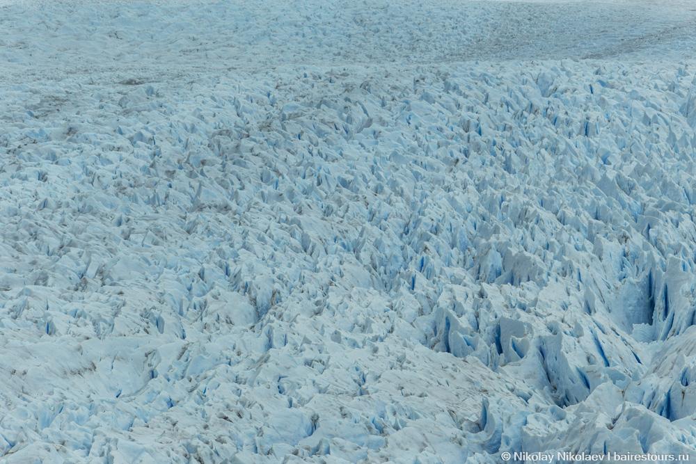 14. Количество льда просто ошеломляющее: Перито Морено по площади превосходит Амстердам!
