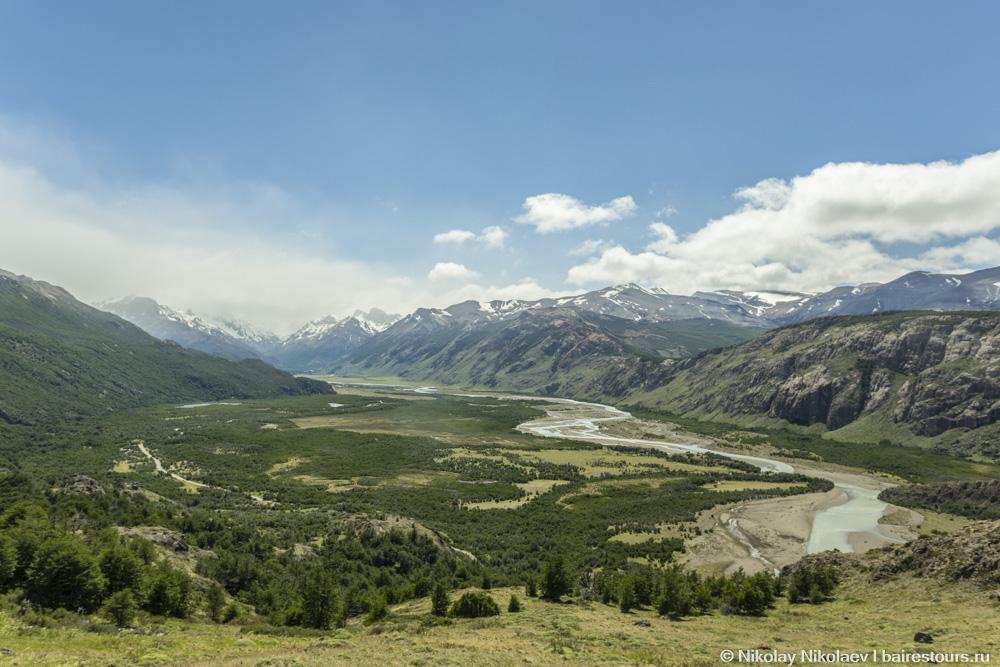 14. Вид на долину.