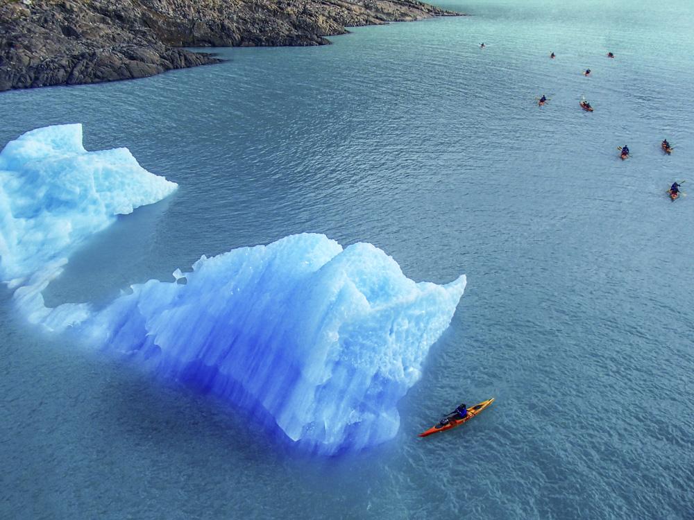 Каякинг к леднику Упсала