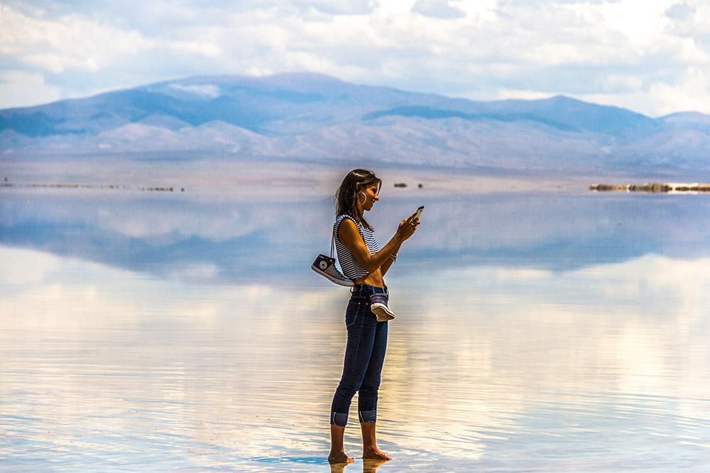 Солончак Салинас-Грандес в Аргентине
