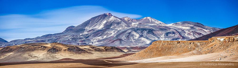 Вулкан Охос-дель-Саладо, Анды