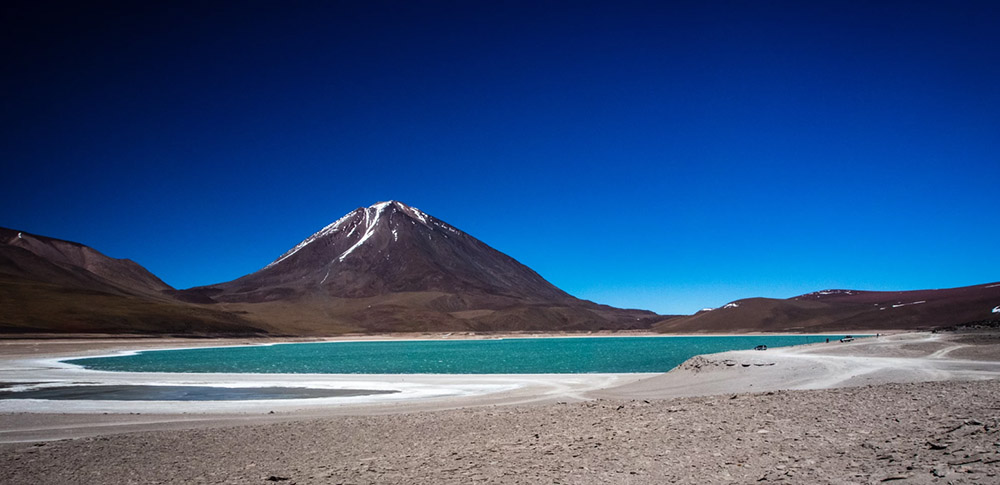 Вулкан Ликанкабур в Андах