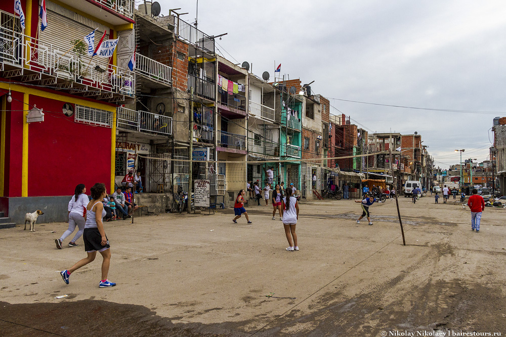 Трущобы Буэнос-Айреса
