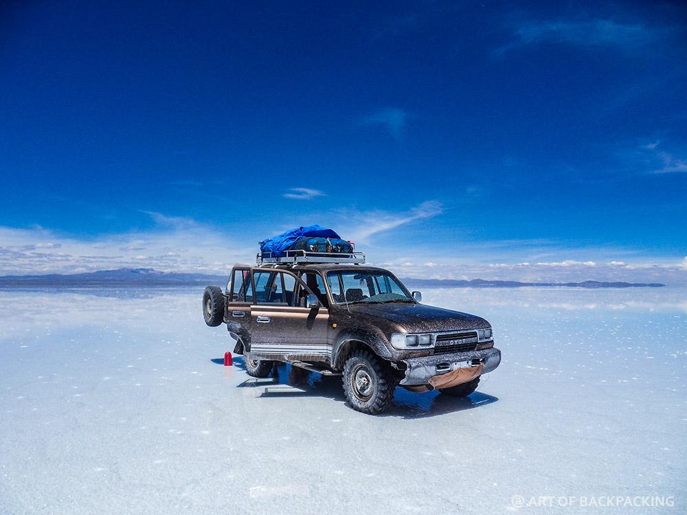 Солончак Уюни — главная достопримечательность Боливии