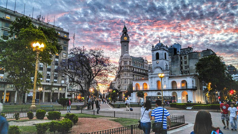 Современный Буэнос-Айрес
