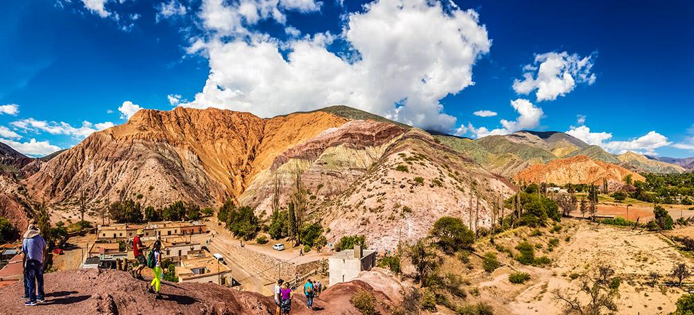 Долина Кембада-де-Умауака в Аргентине