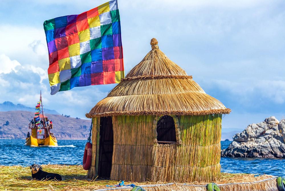 Озеро Титикака в Андах