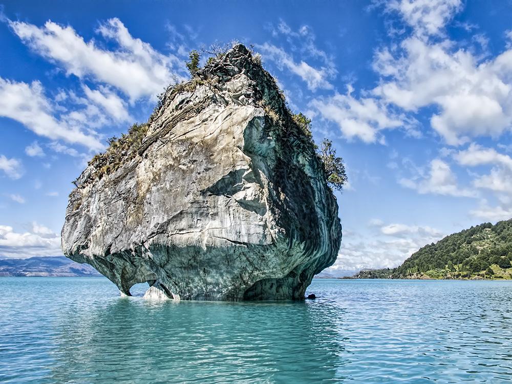 Озеро Буэнос-Айрес, Анды