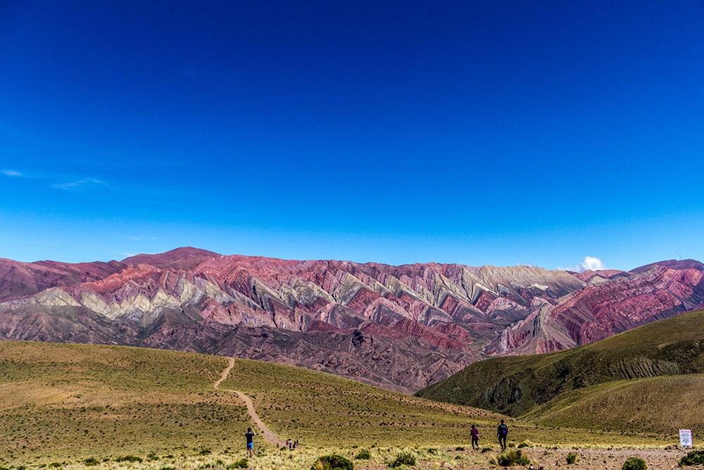 Орнокаль - цветная гора на северо-западе Аргентины