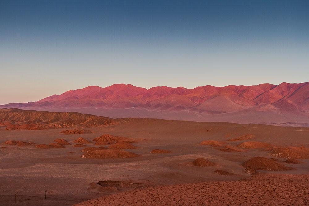 Пустыня дьявола в аргентинской Пуне