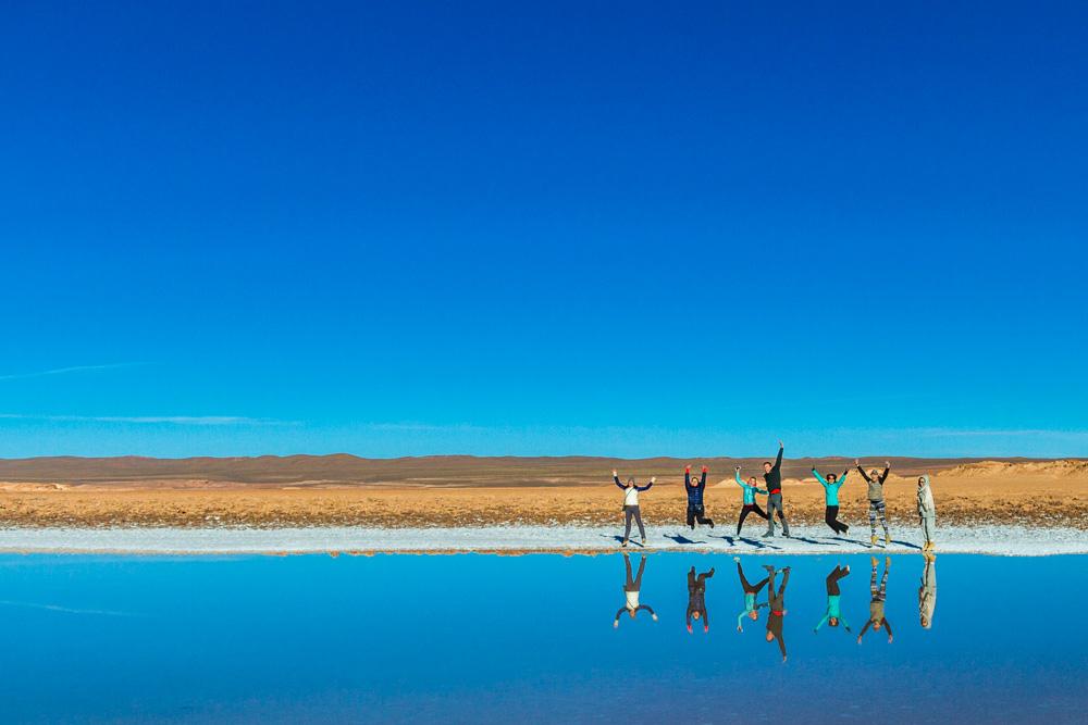 Экспедиция по аргентинской Пуне. Отражение в глазах моря.