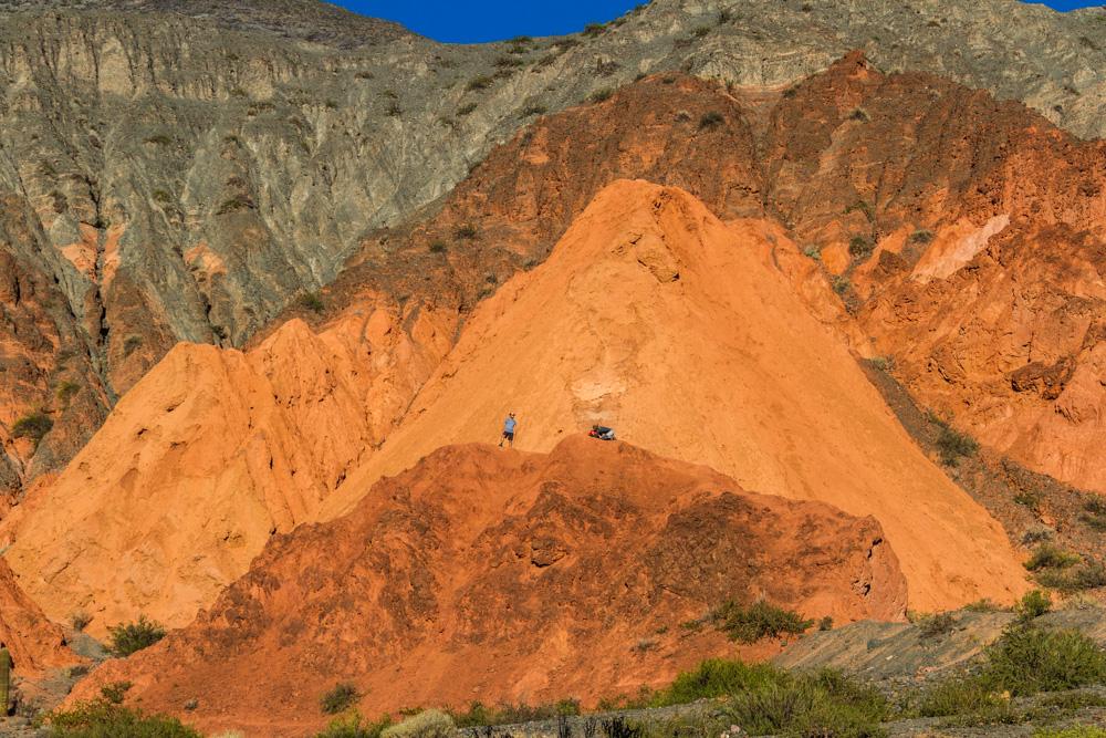 Цветные скалы Аргентины
