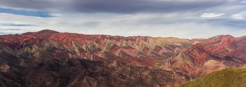 14-цветная гора Орнокал