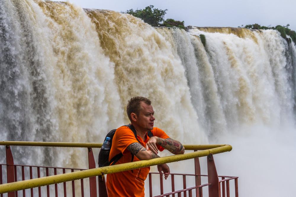 На водопадах Игуасу